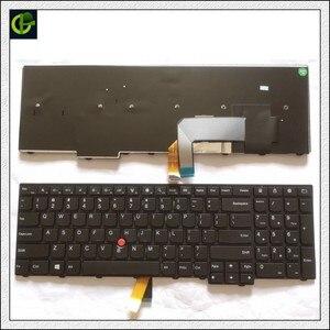 Image 1 - جديد الأصلي الإنجليزية لوحة مفاتيح لأجهزة لينوفو ثينك باد W540 W541 W550s T540 T540p T550 L540 حافة E531 E540 L570 0C44592 0C44944 لنا
