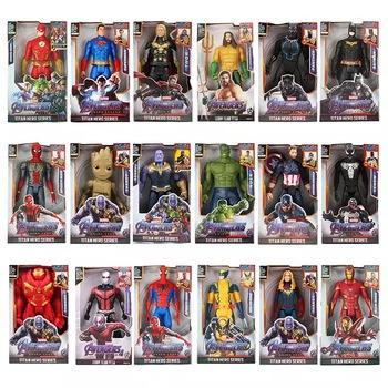 12 #8221 30cm Marvel Avengers Venom Batman Flash Superman Spiderman Thanos Hulk Iron Man Thor Groot figurki zabawka dla dziecka prezenty tanie i dobre opinie Disney Model Dla osób dorosłych Adolesce 25-36m 4-6y 7-12y 12 + y CN (pochodzenie) Unisex None 12 30cm On Avengers Wersja zremasterowana