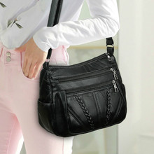 Fashion Casual Ladies Shoulder Messenger Crossbody Bags PU Leather Handbags Shoulder Crossbody Bag Solid Small Bags For Women цена 2017