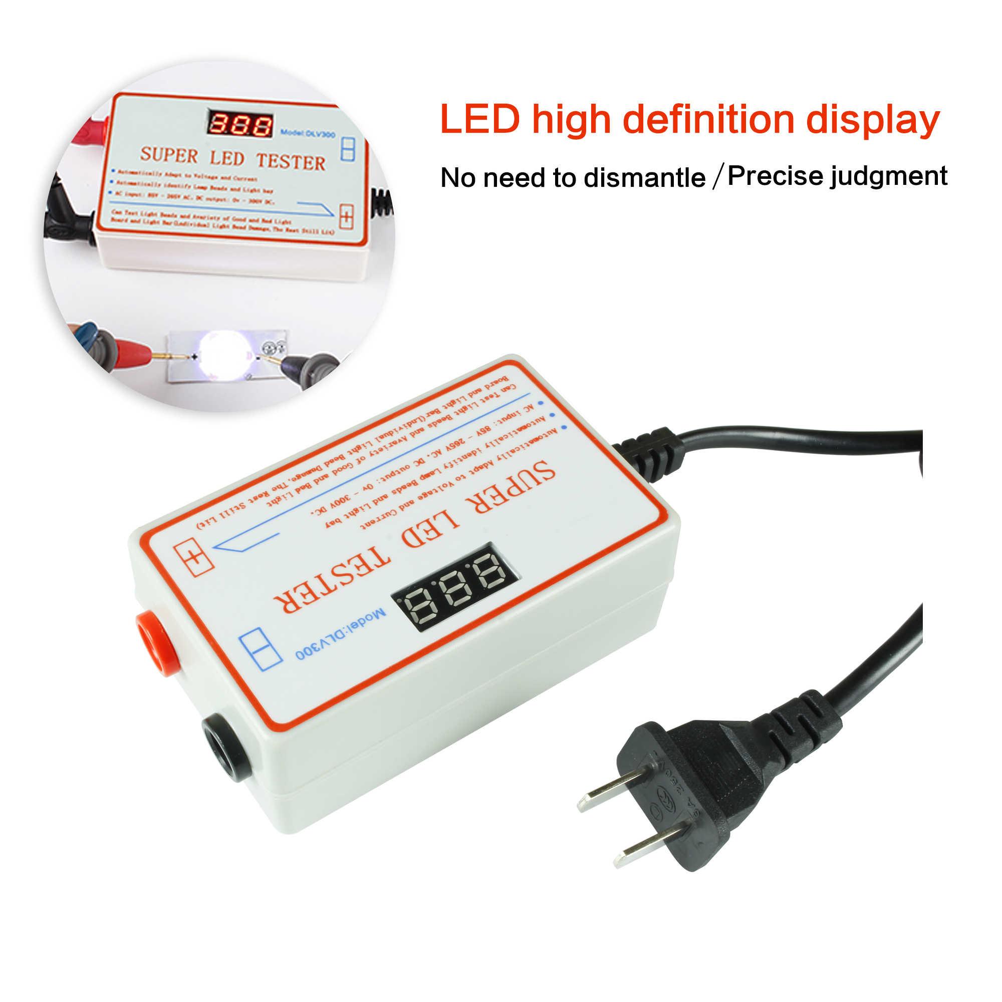 Новый светодиодный тест er 0-300 в выходной светодиодный тест на подсветку телевизора многоцелевой светодиодный тест-полоски