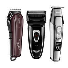 Kemei Professional Electric Hair Clipper Rechargeable Cordless Hair