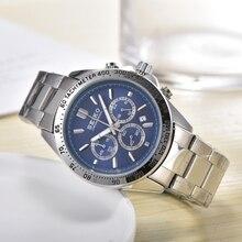 Seiko-reloj de lujo para hombre y mujer, resistente al agua, automático, mecánico, de acero inoxidable, de cristal de zafiro, 1001