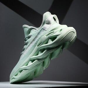 Image 1 - Heidsy מותג גברים סניקרס 2020 חדש אופנה אור משקל אוויר רשת נעליים יומיומיות אביב להב גברים נעלי עיצוב Zapatos דה Hombre