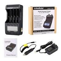 LiitoKala-cargador de batería de Lii-500, dispositivo con 4 ranuras para batería, pantalla LCD, para 26650, 22650, 18650, AA, AAA, A, Ni-MH, ni-cd, Li-ion