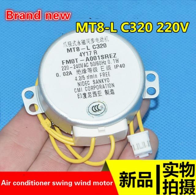 適切なシャープ空気清浄機加湿フィルターディスク回転モータ MT8 L C320 モータ 220V 真新しい本