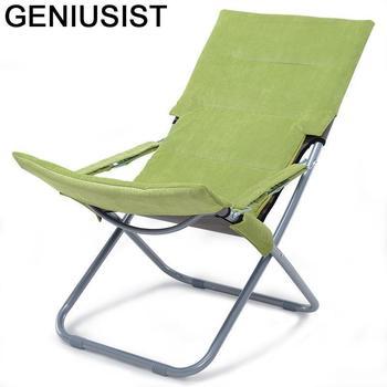 Mobilier Playa Exterieur Tumbona Para Patio Cama Camping Outdoor Folding Bed Salon De Jardin Garden Furniture Chaise Lounge