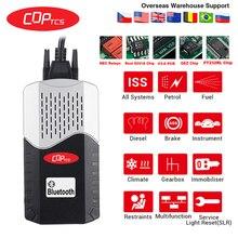 CDP TCS multidiag pro Bluetooth,00 keygen V3.0 реле NEC obd2 сканер автомобилей грузовиков OBDII диагностический инструмент