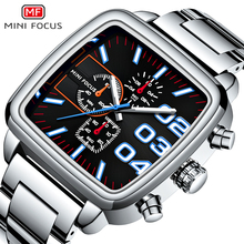 MINIFOCUS Chronograph Watch Men Top Brand Luxury Wa