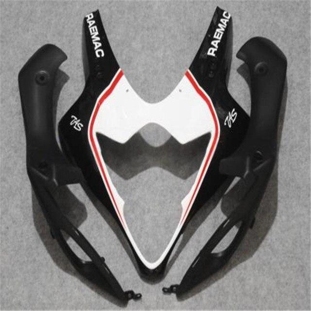 Molde de inyección gratis personalizar kit de carenado para Suzuki GSXR1000 05 06 etiqueta engomada blanca negro carenados de GSXR 1000, 2005, 2006