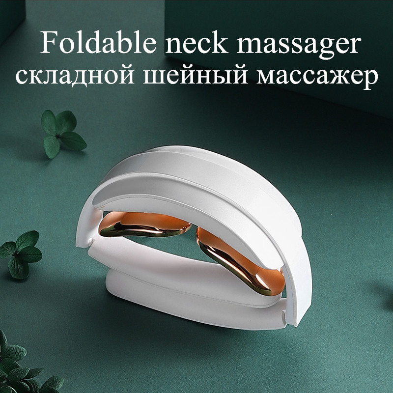 Neckology Intelligent Neck Massager with Heat Cordless Electric Pain Relie Health Care Relaxation deep tissue massager For neck|Neck Massage Instrument| - AliExpress
