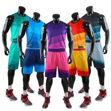 Баскетбольный костюм для мужчин, для колледжа, для летних игр, тренировочный спортивный жилет, детский баскетбольный трикотажный командный костюм для женщин