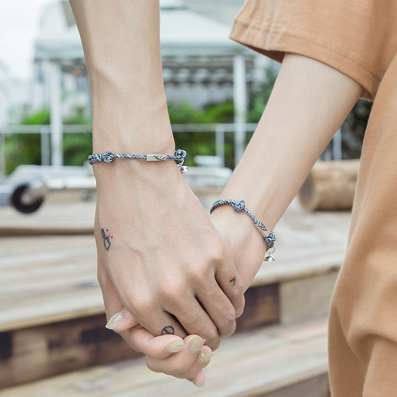 bracelets for women charm Bracelets Adjust Braided Thread Braslet Lover Forever Couple Brazalete Valentine Braclet Pulseira 2PCS