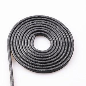 Image 5 - Универсальная уплотнительная лента для автомобильных дверей, 5 метров, U тип, звукоизоляция, уплотнительная лента для автомобильных дверей, резиновая уплотнительная лента, кромка, шумоподавление, анти коллисио