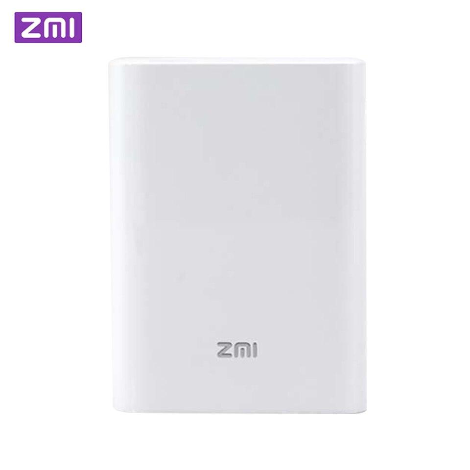 Original ZMI 4G Wifi routeur 7800 mAh batterie externe 3G 4G sans fil Wifi répéteur WiFi routeur Hotspot Mobile 7800 mAh Powerbank