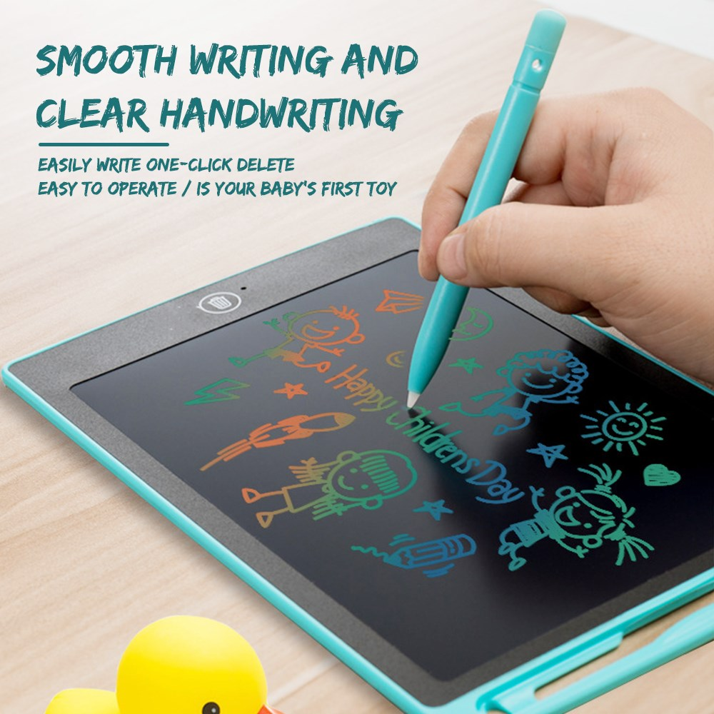 Portable 8.5 Inch Smart LCD Writing Tablet Electronic Notepad Drawing Graphics Handwriting Pad Board With Colorful Display