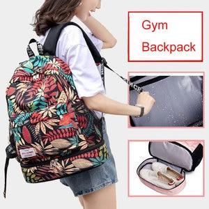 Image 1 - Women Gym Backpack Dry Wet Fitness Bag Travel Rucksack Waterproof Mujer Sac De Sport Gymtas Swimming Bag Training Bags XA850WA