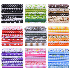 25x25cm and 25x20cm Printed Cotton Fabric Cloth Sewing Quilting Fabrics for Patchwork Needlework DIY Handmade Accessories
