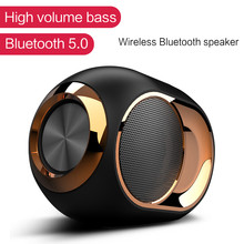 Super Bass Bluetooth Speaker with Subwoofer Wireless Speakers for Phone Computer Portable Stereo Soundbar Home TV