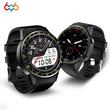 696 F1 sports smart watch 2G GSM SIM watch sports heart rate health monitoring air pressure relative height compass for apple ip(China)
