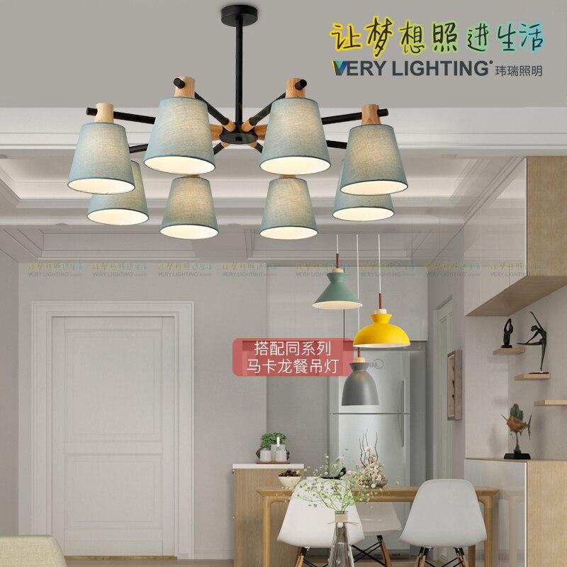 Nordic Japanese Led Oak Wood Pendant Light Lamp Fixture Hanging Light Lustre Avize Home Bedroom Living Room Deco Maison