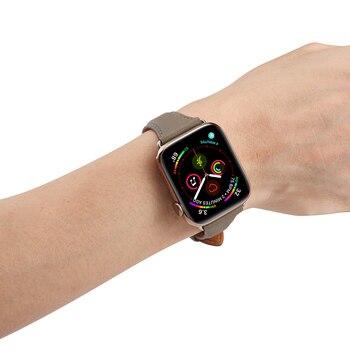 Ремешок из натуральной кожи для Apple Watch 38-42 мм 4