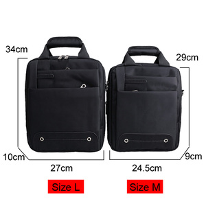 Image 3 - Hommes sac 2020 mode hommes sacs à bandoulière de haute qualité Oxford ceinture décontractée sac de messager affaires hommes fermeture éclair sacs de voyage XA157ZC