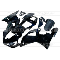 Full Fairings Fit Yamaha YZF R1 2000 2001 YZF R1 00 01 YZFR1 ABS Injection Motorcycle Fairing Kit ABS Bodywork All Black