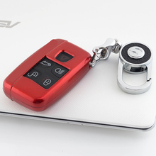 цена на ABS Car Key Protection Case Cover Shell For Land Rover Range Rover Sport Discovery 4 Evogue LR4 2010-15 Refit for XE XFL Et