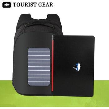 10W Solar Powered Designer bagpack men mochila usb charging anti theft backpack Travel 15.6'' laptop backpack women waterproof 2