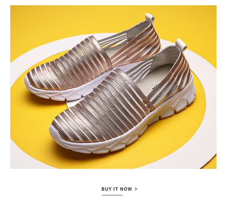 Women Flats Shoes Woman Loafers Slip-ons Platform Ballet Sneakers (19)