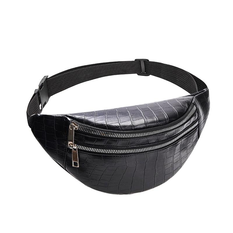 belt bag waist packs for women designer brand Luxury bag High Quality crocodile women PU leather bag Fanny Pack message bag