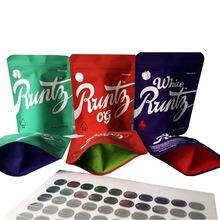 Пакеты для сорняков runtz с застежкой молнией и этикетками 35