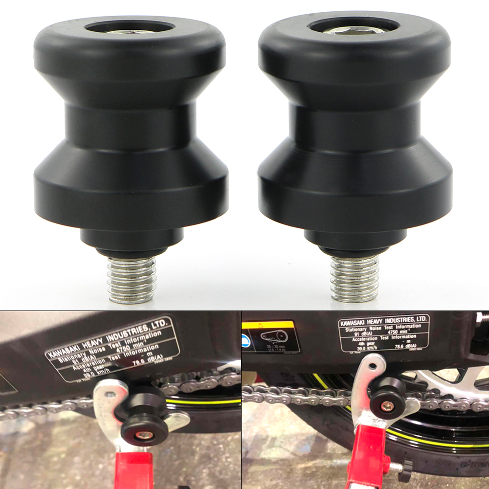 For BMW S1000RR 2009 2018 HP4 S1000R 2014 2018 S1000XR 2015 2016 2017 2018 Motorcycle Swingarm Spools Slider Stand Bobbins Screw in Stands from Automobiles Motorcycles