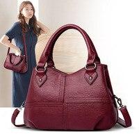 Women's bag genuine leather 2020 new fashion shopping bag for women Pommax H19 008 women's handbag leather shoulder bag