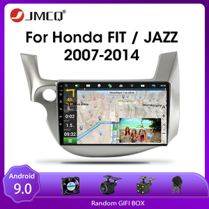 JMCQ Android 9.0 Car Radio For HONDA FIT JAZZ 2007-2013 Multimedia Video Player 2 din Mirror Connection Split Screen Head unit