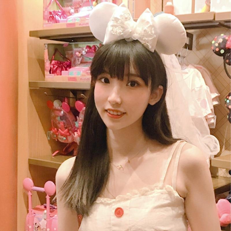 Closeout DealsDisney Girl Toys Headband Mickey Mouse Ears Duffy Bear Wedding-Style Party Birthday-Gift