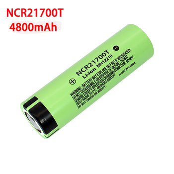 3.7V NCR21700T 4800mAh li-lon battery 15A power 5C Rate Discharge ternary lithium batteries DIY Electric car battery pack image