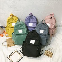 Backpack for Students Sac A Dos Ecole School Bag Male&&female Students Korean Version Nylon Couple Backpack Small Shoulder Bag