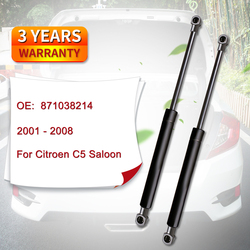Tailgate Boot Gas Strut 871038214 8731F6 for Citroen C5 Saloon Sedan from 2001 to 2008
