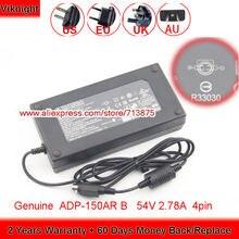 Подлинная Дельта 150 Вт Зарядное устройство 54в 278a 4pin adp