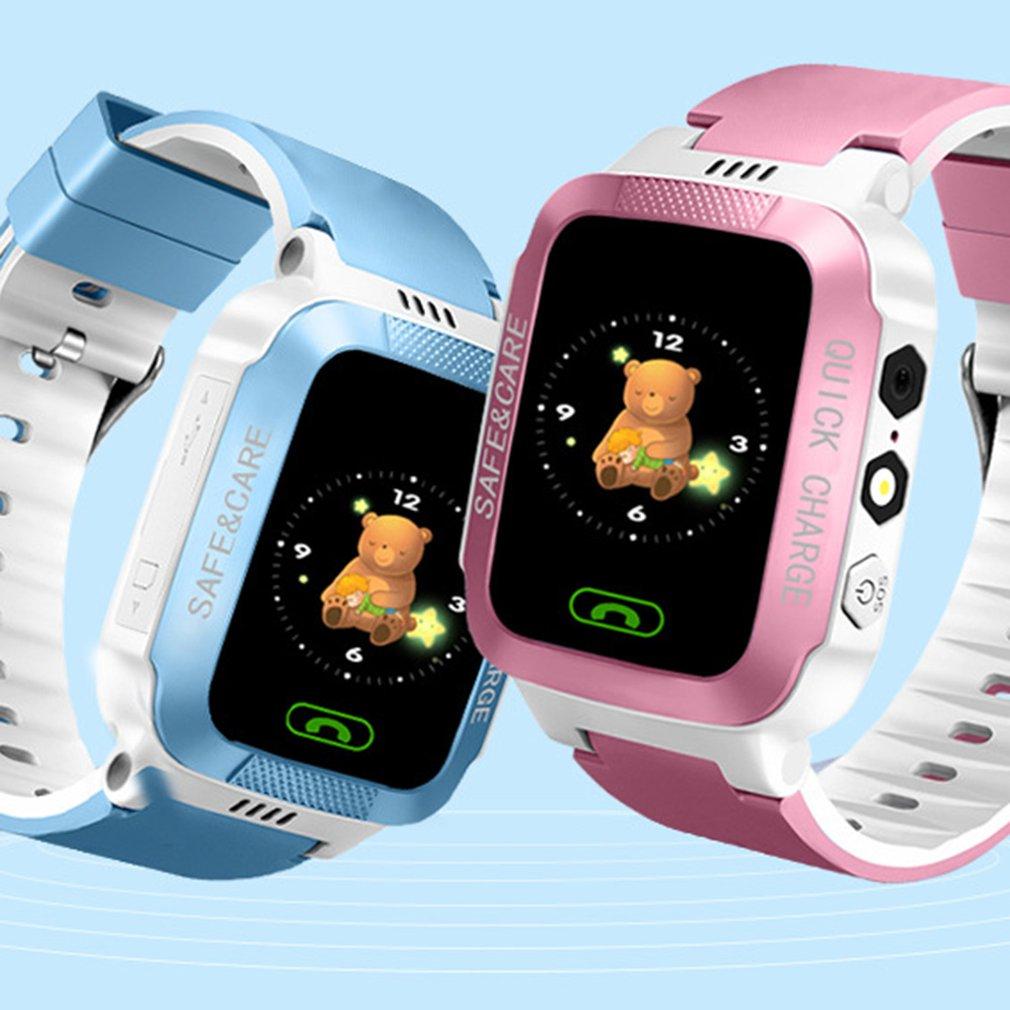 Y21S GPS Tracker Kids Watch Smart GPS Watches Camera Flashlight SOS Call Location Baby Clock Children Watches 2G Data SIM Card