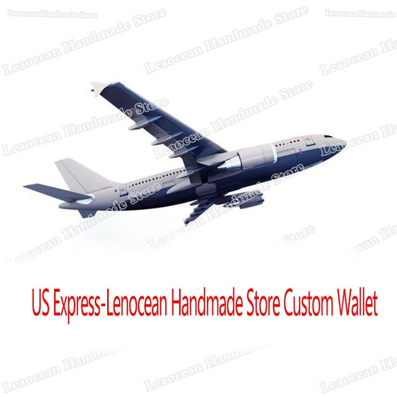 US Express-Lenocean Handmade Store Custom Wallet