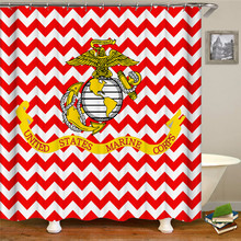 Shower Curtains Polyester Waterproof Bath Curtain Bathroom Multiple sizes can be customized