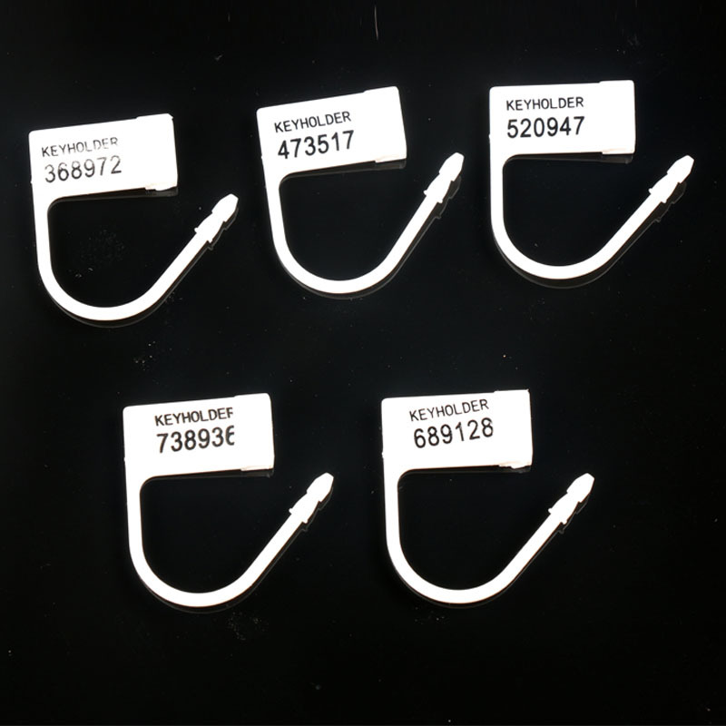 Disposable Plastic Locking Pieces Cards Blockade For Male Men Chastity Penis Cock Cage Penis Lock 5 Different Numbers Keyholder