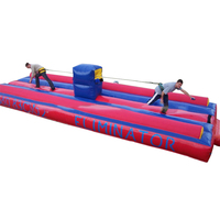 Customized Giant Inflatable Mat Tug of War Rent Lease Equipment Inflables Outdoor Sports Athletics Game for Adult Kids Team Toys