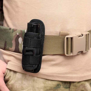 Pouch Tactical-Vest Holster-Torch-Case Flashlight Hunting-Bags-Accessories Rotatable