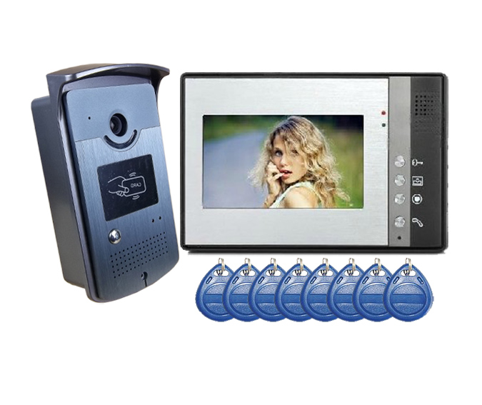 Yobang Security Freeshipping Video Door Phone Intercoms Interfone Para Casa Maison Video Intercom Video IR Camera Citofono Casa