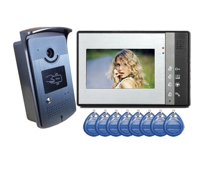 Yobang Security Freeshipping Video Door Phone Intercoms Interfone Para Casa Maison Video Intercom Video IR Camera Citofono Casa