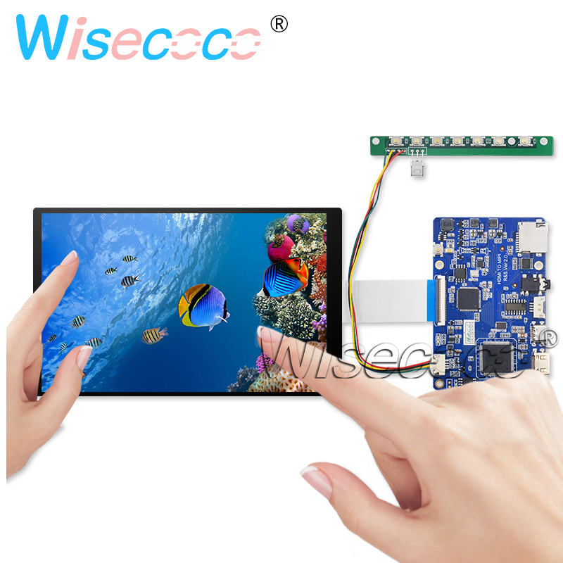 7 inch 1200x1920 IPS LCD <font><b>Display</b></font> 500 nits capactive touch for tablet PC <font><b>Raspberry</b></font> <font><b>Pi</b></font> HDMI Type-C Audio Controller Board TFTMD070 image