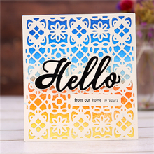 Eastshape Rectangle Flower Frame Metal Cutting Dies for Craft Card Scrapbooking 2018 New Embossing Stencil Template Die Cuts New yaminsannio 12 pcs lot word frame month metal cutting dies scrapbooking die cuts card making embossing craft template new 2020